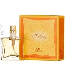 Hermes Purses - 24 Faubourg By Hermes .25 Oz (1/4 Oz) Pure Parfum De Luxe Purse Spray Refill For Women