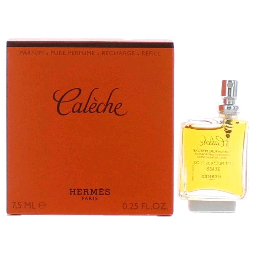 Hermes Purses - Caleche By Hermes .25oz Pure Parfum Refill Purse Spray For Women